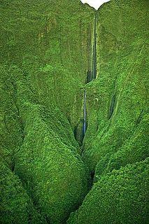 Honokohau Falls, Mau.   Flickr