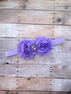 Lavender Headband from The Blooming Lilac Bowtique