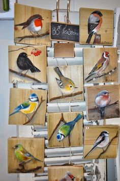 La Dilettante Atelier The Effective Pictures We Offer You About Birds Drawing ink A quality picture Bird Painting Acrylic, Acrylic Painting For Beginners, Watercolor Bird, Tole Painting, Painting On Wood, Bird Paintings On Canvas, Arte Pallet, Pallet Art, Barn Wood Crafts