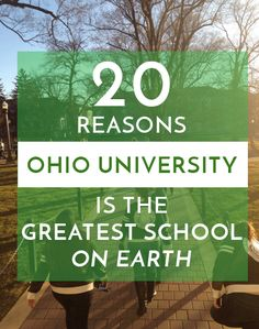 Tucked in the rolling hills of the Appalachia, Ohio University is one of the crown jewels of Athens. Students from far and wide call this hidden gem their hOUme, and they're proud to call themselves Bobcats. But what exactly makes Ohio Universitythe greatest school on earth? Let me tell you. 1. I mean, have you […]