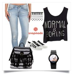 """""""Snapmade 9/10"""" by sanela1209 ❤ liked on Polyvore featuring MICHAEL Michael Kors, Miss Kitty Couture and Boohoo"""