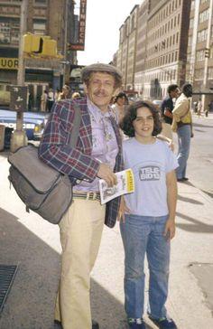 Jerry and son Ben Stiller circa 1978