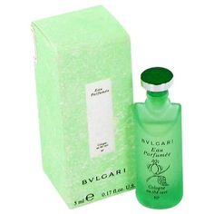 BVLGARI EAU PaRFUMEE (Green Tea) by Bvlgari Mini EDC .17 oz (Men)