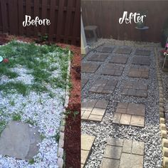 A husband and wife buy 18 paving stones at Home Depot for the best reason. See how they got the amazing backyard we all want!