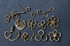 Mu-Yin Jewelry: sneak peak of new designs - wire sculpture