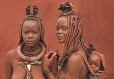 Himba of Namibie beauty African Tribal Girls, Tribal Women, African Women, Tribes Of The World, People Of The World, Afro, Black Women Art, Beautiful Black Women, Africa Tribes