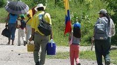 Número de desplazados en Colombia disminuyó casi la mitad entre 2010 y 2014.-En lo que va de 2015 se han producido 537 casos documentados de personas que han sufrido desplazamiento forzoso.