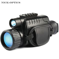 """HOT PRICES FROM ALI - Buy """"Monocular Night Vision infrared Digital Scope for Hunting Telescope long range with built-in Camera Shoot Photo Recording Video"""" from category """"Sports & Entertainment"""" for only USD. Hunting Scopes, Hunting Gear, Nocturne, Visible Spectrum, Night Vision Monocular, Videos, Survival Gear, Survival Skills, Binoculars"""
