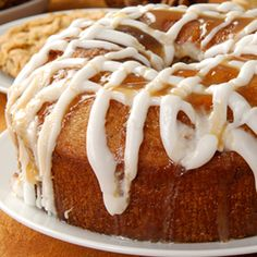 Serve with fresh, coffee, tea or a tall glass of cold milk. Mmmmm. Double Apple Bundt Cake Recipe from Grandmothers Kitchen.