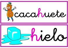 Dificultades ortográficas Spanish Class, Embroidery Patterns, Peace, Logos, Kids, David, Google, Spanish, Diy