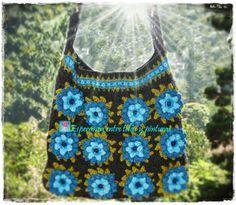 Esperanza entre telas y pinturas: Bolso en crochet (tutorial), Angeles bordados, cinturon patchwork.......