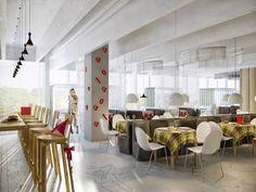Chameleon Restaurant / Za architects