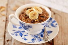 Learn how to make my Microwave Breakfast Cookie in a Mug and enjoy a power-packed, protein-filled breakfast in just minutes!