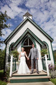 green trimmed chapel