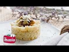 ▶ Risotto de champiñones y queso parmesano - YouTube