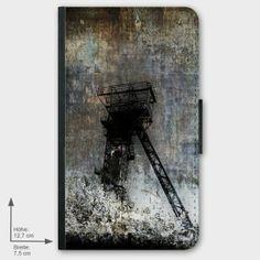 """Galaxy S2 Flip-Case """"Mitten im Pott"""" von Zierrat auf DaWanda.com"""