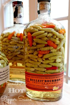 Southern Hot Pepper Sauce Recipe PepperHead is part of Pepper sauce recipe - Pepper sauce is found on tables from home kitchens to the finest of dining establishments around the South, and no true Southern meal is really complete without it Food Storage, Sauce Carbonara, Chile Picante, Hot Sauce Recipes, Hot Pepper Recipes, Cayenne Pepper Recipes, Chilli Recipes, Hot Pepper Sauce, Tabasco Pepper Sauce Recipe
