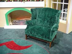 Wide Wingback chair from Bronner's