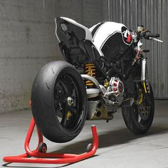 Automotive designer Paolo Tesio has reworked the Ducati S4R Monster into an even more desirable machine, transforming it with remarkably few modifications.