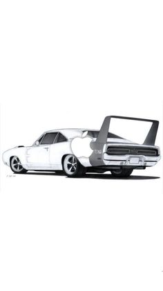 Carros Ferrari, Dodge Charger Daytona, Dodge Charger 1970, Porsche, Audi, Cool Car Drawings, Car Wallpapers, Wallpapers Android, Car Illustration