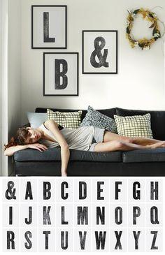 diy typography printable ~ Sugar Bee Crafts