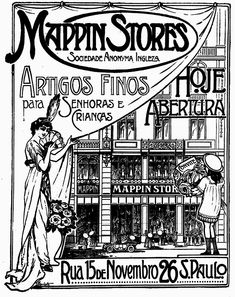 Mappin Stores in Brazil, 1913