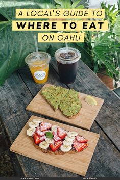 A local's guide to the best places to eat on Oahu, Hawaii. The best malasadas, shave ice, views, and more. Oahu Hawaii / Oahu Hawaii things to do in / Oahu Hawaii secrets / Oahu food guide / Oahu food restaurants / Honolulu Hawaii / Honolulu Hawaii things to do in / North Shore Oahu / Hawaii food guide / Oahu eats / best places to eat in Oahu / where to eat in Oahu / Waikiki Hawaii / #oahu #hawaii #foodguide #honolulu #waikiki Oahu Things To Do, Honolulu Restaurants, Oahu Vacation, Hawaii Travel Guide, North Shore Oahu, Honolulu Hawaii, Aloha Hawaii, Hawaii Life, Best Places To Eat