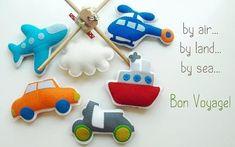 Мобиль для малышей. Игрушки из фетра. Обсуждение на LiveInternet - Российский Сервис Онлайн-Дневников