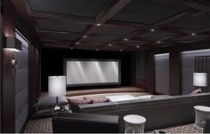 "5,491 Likes, 20 Comments - @lux.interiors on Instagram: ""Beautiful Home Theatre  