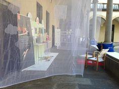 Spazio #Tajima presso Inchiostro Creativo, Fuorisalone delle 5 Vie, Via Lanzone, 51, Milano #InteriorDecoration #ricamo #mdw #fuorisalone