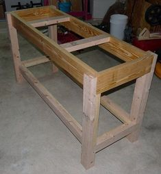 Work Bench, I like this one made nice and strong