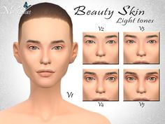The Sims Resource: Beauty skin by Ms Blue • Sims 4 Downloads