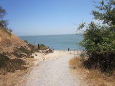 The road to Quarry Beach
