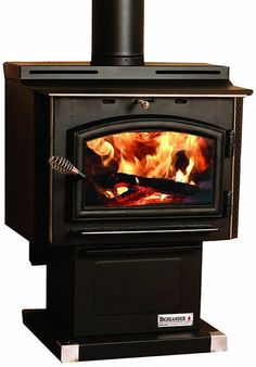 Breckwell Swc21 Cast Iron Wood Stove Red