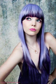 Purple Bangs