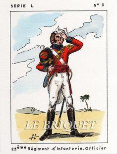 Ufficiale del 23 rgt. fanteria di linea inglese