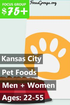 Calling all KansasCity (MO) pet lovers! Focus Pointe Global is looking for cat or dog owners ages 22-55 who consider their pet to be a member of their family, and only want the very best for their furry companions, for a paid focus group on Pet Food! Earn $75 for 1 hour of your time the week of October 9th (next week)! Some participants may be selected for an additional 1 hour and 40 minute breakout session, and will be compensated an extra $70 for their time. If you are interested in…