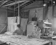 A vignette from American Home Scenes in   Harper's Weekly April 13, 1861      A reader wrote that she was interested in quilting on a f...