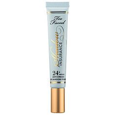 Too Faced Shadow Insurance. By far, the best eye shadow primer I have ever purchased. Highly recommended!