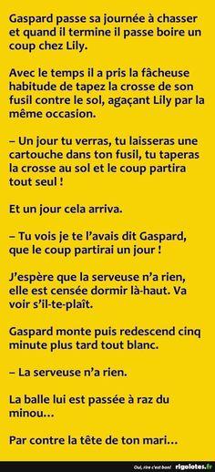 Gaspard passe sa journée à chasser ... - RIGOLOTES.fr