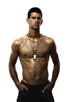 Novak Djokovic ~ London Olympics 2012 Tennis player ~ something sexy about a well seasoned tennis player!
