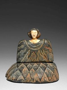 Bactrian Princess, Composite stone statuette depicting a seated princess, Bronze Age, End of 3rd millenium B.C.