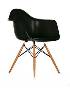 CASANOVA Møbler — Eames Armstol (DAW) - Sort