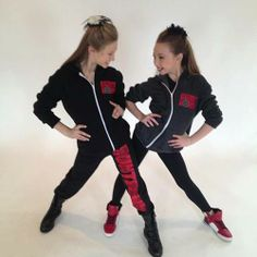 Sophia Lucia and Autumn Miller. They look so cute together! My dance inspirations