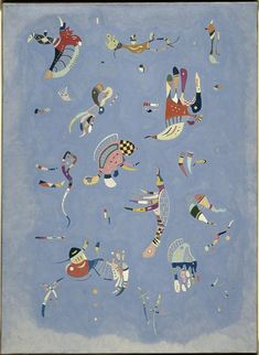 Buy Sky Blue by Wassily Kandinsky as a framed art print. Learn more about this famous Kandinsky painting. Wassily Kandinsky, Kandinsky Kids, Musée National D'art Moderne, Oil Painting Reproductions, Art Plastique, Oeuvre D'art, Game Art, Art History, Graphic Art