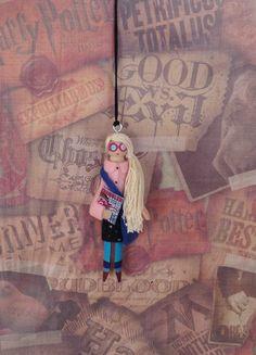 Luna Lovegood Clothespin Doll Ornament