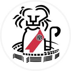 River Plate - ARG: 1986 #futbolriverplate Escudo River Plate, Stickers, Carp, Tatoos, Soccer, Plates, Album, About Football, Hs Sports