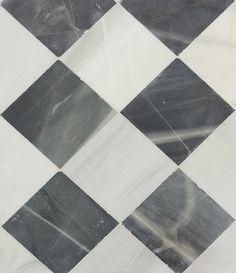 Lorca Antiqued Marble floor tiles