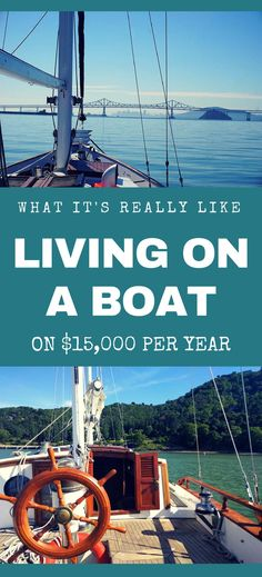 Have you ever thought about living on a sailboat? Hear what living on a boat is really like from Kristin at the Wayward Home #sailboat #boating