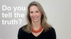 Do you tell the truth? Blog post by Rena Hedeman, Life Coach www.renahedeman.com #inspiration #motivation #health #wellness